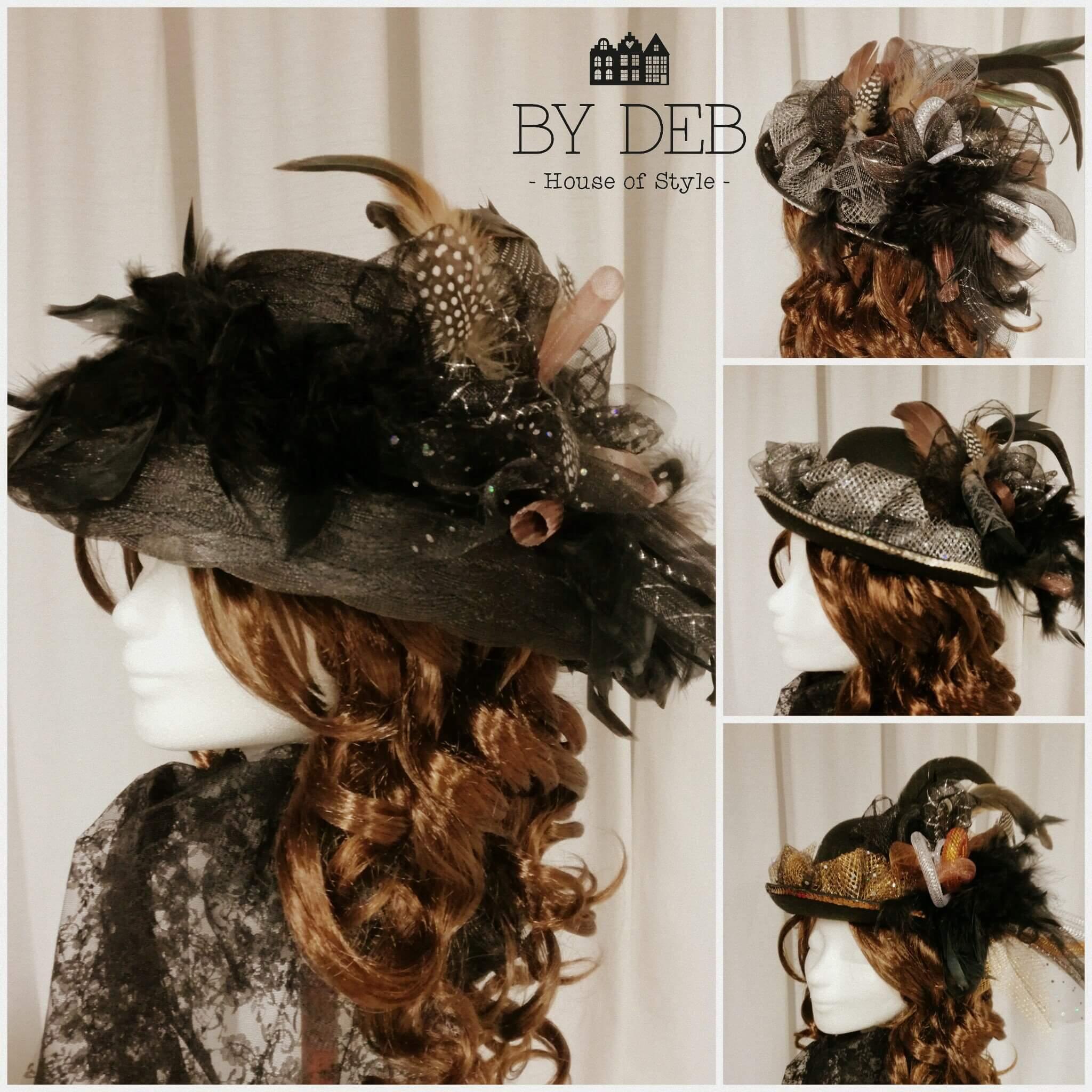 Sjieke boerenbruiloft hoed